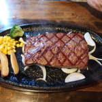 ステーキ&ハンバーグ かな井 - カーニヴォステーキランチ:150g1150円