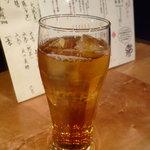 さかなや いぬい - ☆烏龍茶とで乾杯です(^_-)-☆