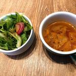 BISTRO BARCO - セットのサラダ&スープ