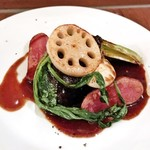 湯島ワイン食堂 パパン - 牛ホホ肉の赤ワイン煮(1,880円)