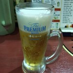 ライオン飯店 - ●生ビール550円税込