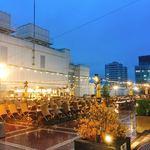 Sogouoomiyajukkaiokujoubiagaden - 閑散としたビアガーデン会場