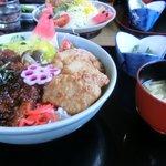 お食事処 山どり - 七ッ鉢丼