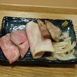 中華蕎麦 時雨 - おつまみチャーシュー