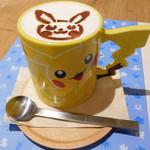 ポケモンカフェ - ピカチュウラテ・ホット
