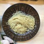 麺処 鶏谷 - 平打ち細麺