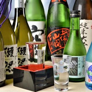 「選ぶ基準は一つ、天ぷらと合わせて美味しいかどうか」