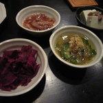 沖縄料理 波乃上 - お通し各種