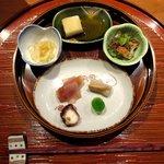 旬菜 甘の井 - 前菜