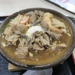糸庄 - 料理写真:もつ煮込みうどん 玉子入り