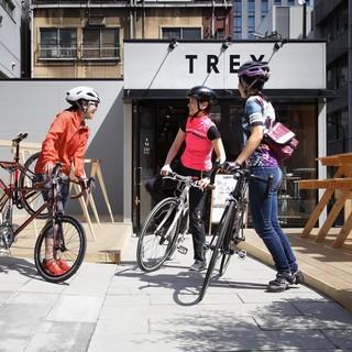 カフェと自転車