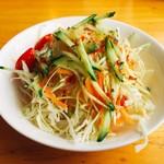 Erupisu - セットのサラダ