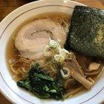 中村屋 - 醤油ラーメン 500円(パスポート利用)