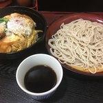 初台庵 - ミニカツ丼セット(¥670)