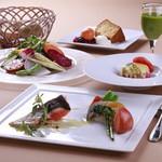 野菜がおいしいレストラン LONGING HOUSE - 5皿コースランチ