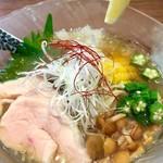 メンドコロ キナリ - 冷やし 魚介出汁