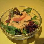 ムンバイ - セットのサラダ
