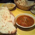 ムンバイ - チキンとひよこ豆のカレー