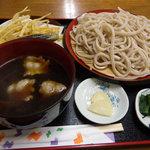 地蔵山 - 肉汁うどん・大盛(735円)_2011-08-02