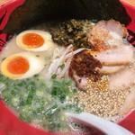 ラー麺 ずんどう屋 - 料理写真:全部のせ    1100円