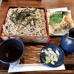 そば処 清水屋 - 料理写真:天ざる並 900円