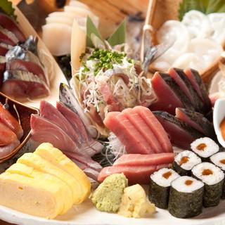 美味しい魚が食べたい時の本領発揮が【魚金】