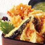 寿司屋の天重