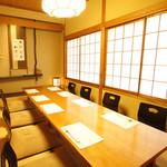 恵比寿亭 - お座敷の個室「ひばり」