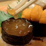 竹寿司 - タコの卵