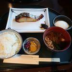 88977248 - 本鰆の味噌柚庵焼き