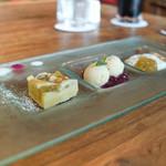 野菜レストランさいとう - ルパーぷと赤紫蘇のデザート3点盛り