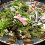 北海道食市場丸海屋 - コースのサラダ