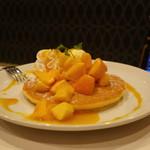 カラオケ ビッグエコー - 料理写真:フルーツパンケーキ