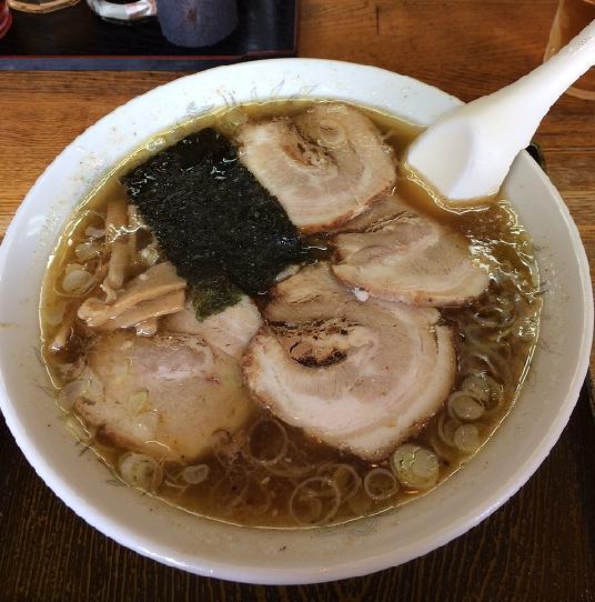 鵜の木 - チャーシュー麺660円