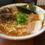 佐伯ラーメン 傳傳 - 料理写真:ラーメン ¥650 ピンボケ