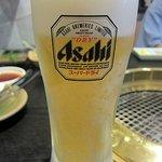 かね竹 - 生ビール