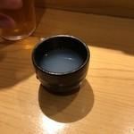 SUSHI TOKYO TEN、 新宿ニュウマン店 - しじみ一番だし