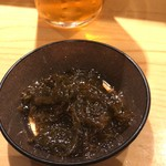 SUSHI TOKYO TEN、 新宿ニュウマン店 - もずく(かなり美味しい)