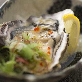 《独自ルートで通年食べられる美味しい牡蠣》