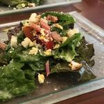 TOKI - ◆共通:野菜サラダ・・いつもながらドレッシングが美味しい。