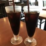 TOKI - ◆共通:アイスコーヒー。量もタップリ。