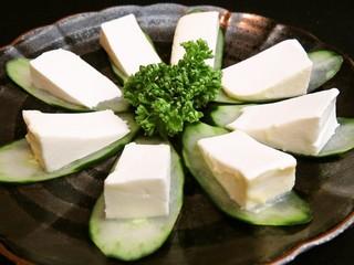 横浜すきずき - クリームチーズみそ漬け480円
