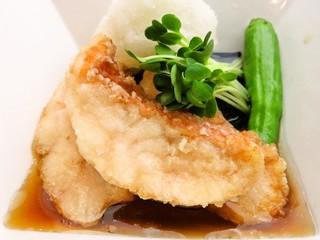 横浜すきずき - 赤魚の揚げ出し600円
