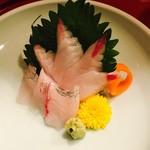 浜ふじ - えぼ鯛の半身は刺身