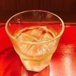 浜ふじ - 次は梅酒のロック