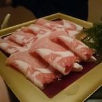 島豚・石焼 燦 - アグー豚