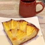 ゼロワンカレー - パイナップルの焼タルト