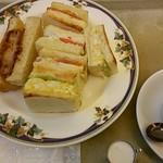 ぶらじる - 料理写真:サンドモーニング 650円