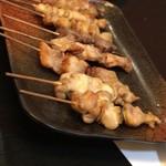 キッチン倶楽部菜好 - 串焼き盛合せ