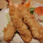 宮島 - 料理写真:海老フライ定食